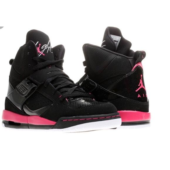 243288a90 Girl Air Jordan Flights 45  Black and Pink. M 5b2ffe6d194dad0581f1a9fb